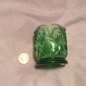 Green Vintage Candle Holder